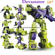 New In Stock Robot Combiner Devastator 6 In 1 Engineering Action Figure Kids Toy