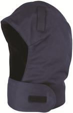 Protector Hard Hat Balaclava Integrated Neck Flap Machine Washable Navy