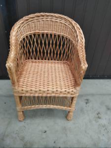 Handmade Chair - Wicker barn chair Handmade rattan furniture Vine