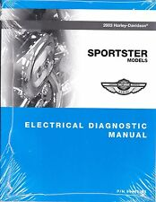 2003 Harley Sportster 883 1200 XL883 XL1200 Electrical Diagnostic Manual 9495-03