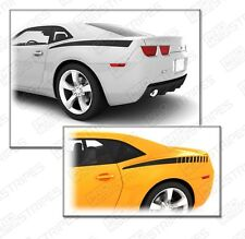 Chevrolet Camaro Rear Quarter Side Accent Stripes Decals 2010 2011 2012 2013