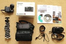 Panasonic LUMIX DMC-DF6K 16.0MP Digital Camera Black + Case, Tripod, Box, Lens