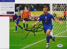Alessandro Del Piero Italy World Cup Signed Autograph 8x10 Photo PSA/DNA COA #3