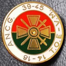 French Army Paris / Croix De Guerre 14-18 39-45 (Ancg Association) France