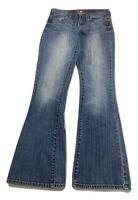 Lucky Brand Sofia Boot Faded Medium Wash Denim Blue Jeans Womens Size 6/28 S29