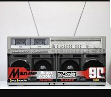SHARP GF 777 GRILLE DECALS /STICKERS Vintage Stereo GhettoBlaster Boombox 80's
