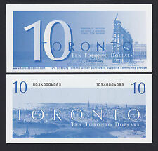 Canada 2008 Local Currency 10 TORONTO Dollars UNC