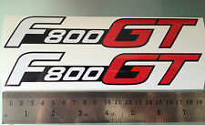F800GT Decals / Stickers for BMW F800 GT (Pair) (Any Colour)