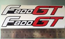F800gt Calcomanías / Stickers Para Bmw F800 Gt (par) (cualquier Color)