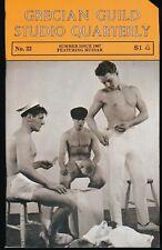 GRECIAN GUILD STUDIO QUARTERLY No. 22 Summer 1967 Gay Physique Digest UNREAD NM