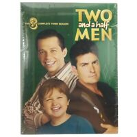 NEW Two and a Half Men - The Complete Third Season (4-Disc DVD Set, 2008) SEALED
