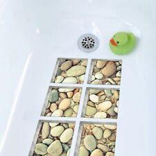 3D Anti Slip Waterproof Bathtub Self-adhesive Cobblestone Kids Shower Bath Mat