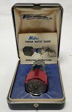 Waters Manufacturing Torque Watch Gauge 651x6 005 60 Ozin Withcase