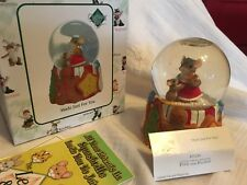 "Charming Tails ""Made Just For You "" Dean Griff Nib Water Globe"