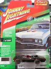 2018 Johnny Lightning *CLASSIC GOLD 3B* Regal Black 1967 Buick GS 400