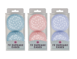 Quality Paper Cupcake Cases DOT - Muffin Baking Cup Cake FAST DELIVERY