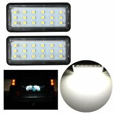 2x No Free LED License Plate Light For Toyota Land Cruiser Prado Lexus GX LX470