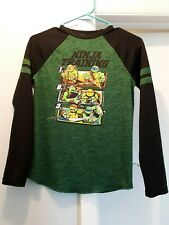EUC ~ Boy's Size Large Teenage Mutant Ninja Turtles Longsleeve Shirt ~ HUGE SALE