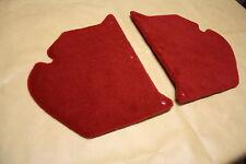 Holden HK-HT-HG kick panels L & R. Red plush carpet. NEW.