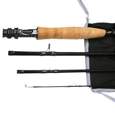 Fly Rod Fly Fishing Rod Graphite Medium Fast Rod 8' 9' for 3/4 5/6 Wt Trout Rod