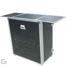 Total Impact Fold Out DJ Disco Stand Silver Edge Edition Pro Flatpack Booth