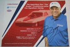 2008 Don Prudhomme signed Wyndham Resorts Funny Car NHRA postcard