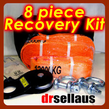 4WD Industries High-Quality Full Recovery 8 Piece Kit