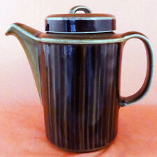 """KOSMOS Arabia Finland Coffee Pot NEW NEVER USED Oven Proof 7.5"""" tall Finland"""