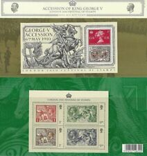 GB Presentation Pack 441 2010 GEORGE V ACCESSION + SEAHORSES 10% off any 5+