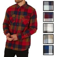 Vans Off The Wall Men's Box Long Sleeve Plaid Flannel Shirt