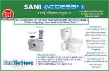 SANIFLO SANIACCESS 2 ELONG KIT W/SLOW CLOSE SEAT. 3YR WARANTY