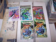 Aquaman #1 2 3 4 4 (1986, Dc) ocean master king of the sea mini series