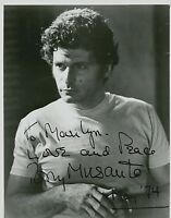 "Tony Musante   :  Actor     B&W  Signed Photograph  ""Toma"""