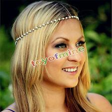femmes filles en métal perle bandeau Alice bande cheveux accessoires nouveau