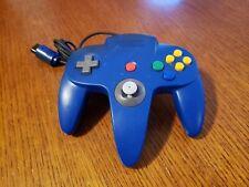 Nintendo 64 N64 Controller Gamepad Blue - Tested - Original Genuine OEM Official