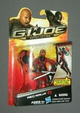 2013 GI Joe Retaliation Red Ninja Carded Action Figure MOC