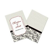 Eclectic Patterns Personalized Wedding Programs 24/pk