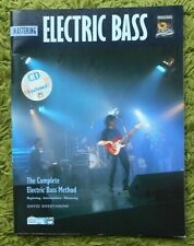 Mastering Electric Bass - Complete Electric Bass Method + CD: David Overthrow