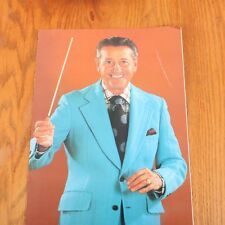 Lawrence Welk Concert Souvenir Program & Ticket Stub June 11 1976 Indianapolis