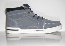 New Izod Men's Owen-1 Gray Suede Fashion Sneaker Boot sz 7 M
