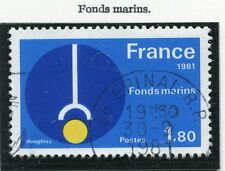 STAMP / TIMBRE FRANCE OBLITERE N° 2129 FONDS MARINS