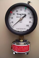 New Trerice Process Gauge, Glycerin Filled, 100 PSI, Seal Assembly, T516-03