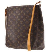 LOUIS VUITTON Musette Shoulder Bag Monogram M51256 France Authentic #KK906 O