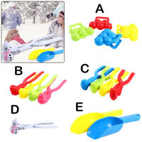 Plastic Snowball Maker Snowball Clamp Fight Snow Ball Clip Winter Game Toy