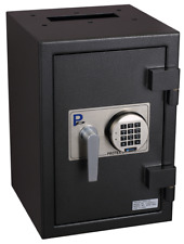 Protex F-2014LSII Electric Rear-Drop Depository Safe Through-the-Wall Drop Chute