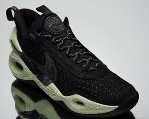 Nike Cosmic Unity Green Glow Men's Black Athletic Basketball Sneakers Shoes