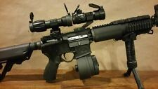 NEW RED DOT SIGHT & 5x MAGNIFIER scope optic eotech aimpoint Tacfire Red Dot