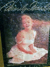Marilyn Wine Bottle Art Glass Movie Star Memorabilia Collectible Hollywood Icon