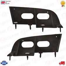 A PAIR OF REAR BUMPER MOUNTING BRACKETS FIT FORD FOCUS MK1 98/2004