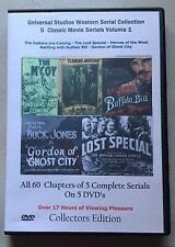 Universal Studios Western Serial Cliffhanger Movies Collection 5 DVD Vol -1
